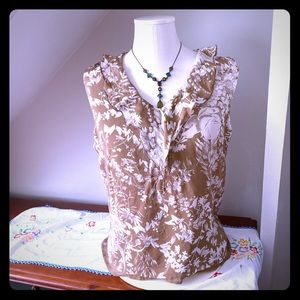 Nora Noh 100% Silk Blouse